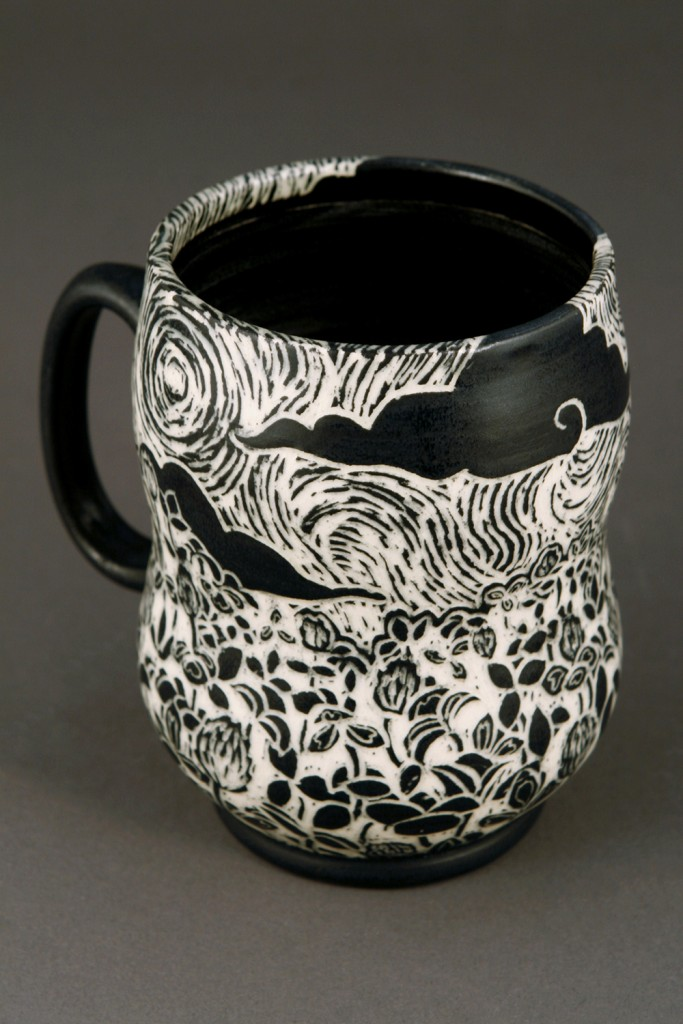 Emily  Nickel - The Land of Milk & Honey Mug - back-web